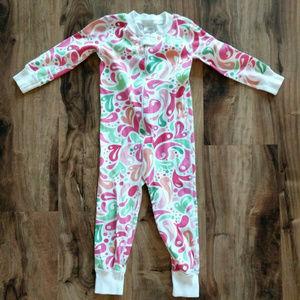 EUC Hanna Andersson Girls 80 18-24 Months Pajamas